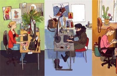 职场江湖:从办公桌的摆放及风格看使用者性格