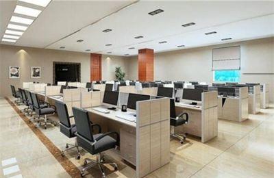 办公桌的摆放同时实现美观效率